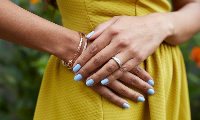 The Salon at Lakeside - Desert Shores: Gel Lakeside Manicure or Gel Lakeside Manicure and Pedicure at The Salon at Lakeside (Up to 45% Off)