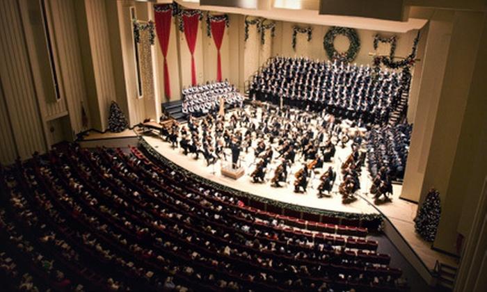 Atlanta Symphony Orchestra - Atlanta Symphony Hall: Atlanta Symphony Orchestra Holiday Concert at Atlanta Symphony Hall (Up to 37% Off). Nine Options Available.