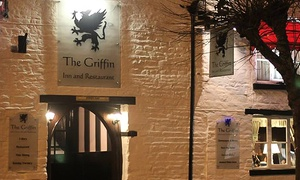 The Griffin Inn: Afternoon Tea with an Optional Glass of Prosecco for Two or Four at Grade II Listed Griffin Inn Restaurant