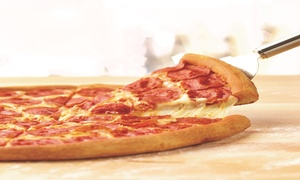 Papa John's - Woodland Hills: Two Medium or Large Single-Topping Pizzas at Papa John's - Woodland Hills (Up to 50% Off)