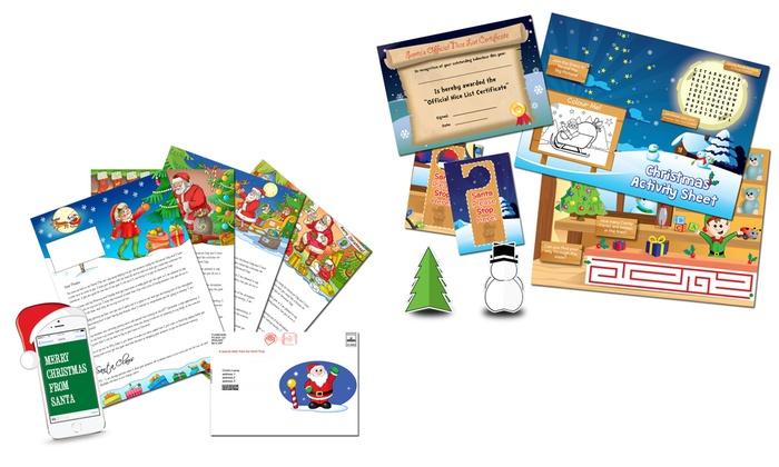 personalised santa letter groupon