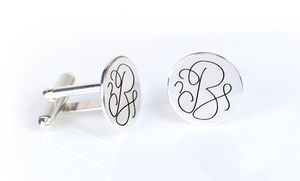 Monogramhub.com: $5 for One Set of Monogrammed Cufflinks from Monogramhub.com ($99.99 Value)