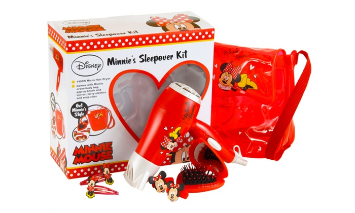 Disney Minnie Mouse Sleepover Hair Care Set for £13.99 With Free Delivery