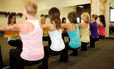 One Month of Unlimited Barre Classes at Karve Studio (65% Off)