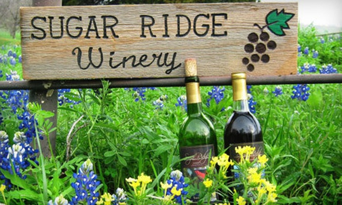 Sugar Ridge Winery - Andrews Road Estates: Wine-Bottling Class for 2, 4, 6, or 10 at Sugar Ridge Winery in Bristol (Up to 60% Off)
