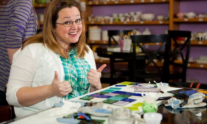 Danielle's Paint-Your-Own Pottery Studio - Langford: C$15 for a Paint-Your-Own-Mug Session for Two at Danielle's Paint-Your-Own Pottery Studio (C$30 Value)