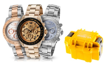 Invicta Speedway 2 Men's Multi-Function Watch