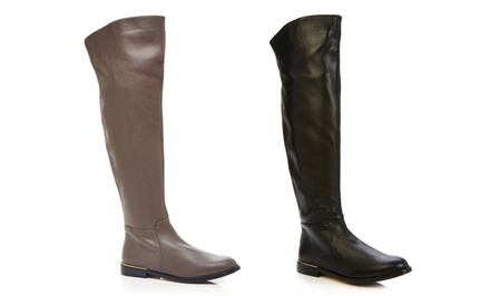 Carmen Marc Valvo Tall Boots | Brought to You by ideel