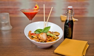 Pan Asian Restaurant: Up to 50% Off Cuisine  at Andora Restaurant Group