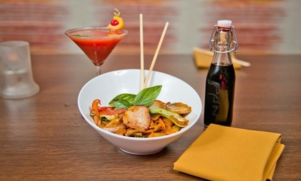 Up to 50% Off Cuisine  at Pan Asian Restaurant