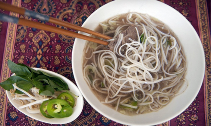 Pho So 9 - Cypress: Vietnamese Cuisine at Pho So 9 (Half Off). Two Options Available.
