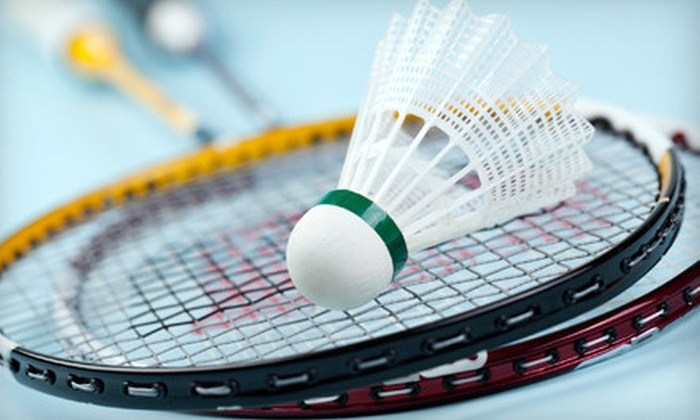Bay Badminton Center - Multiple Locations: Badminton for Two or Four with Rental Rackets at Bay Badminton Center (Up to 65% Off)