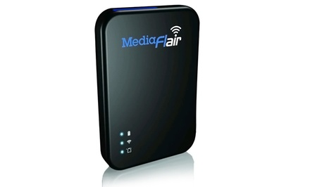 Escort MediaFlair Portable WiFi Media Streaming Drive
