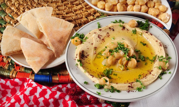 Mijana - Tempe: Lebanese Cuisine for Lunch or Dinner at Mijana (Up to 56% Off). Three Options Available.
