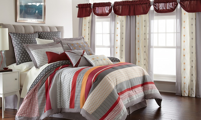 PCT Home Collection King or Queen Comforter Set (24-Piece)