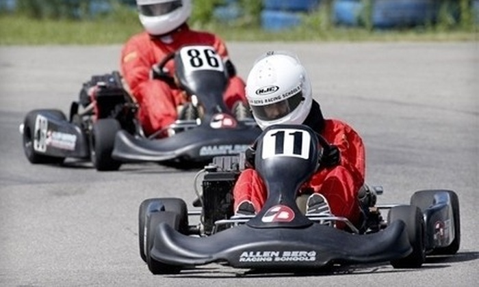 Allen Berg Racing Schools - Southeast Calgary: $79 for a 30-Minute Race-Kart-Driving Experience at Allen Berg Racing Schools ($160 Value)