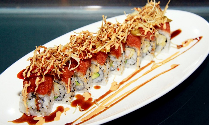 Fujimar Restaurant - Downtown - Penn Quarter - Chinatown: Sushi and Asian-Fusion Meal with Wine for Two or Four at Fujimar Restaurant (40% Off)