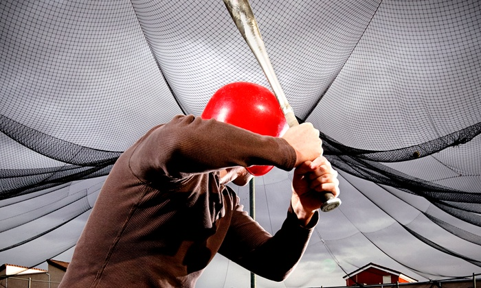 Sluggers - Sluggers: One or Two Groupons, Each Good for One Hour of Continuous Batting Practice at Sluggers (Half Off)