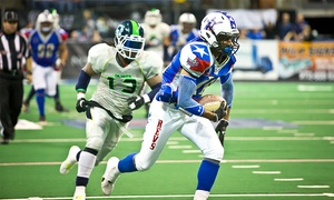 Texas Revolution vs. New Mexico Gladiators: Texas Revolution Indoor Football Game at Allen Event Center on May 29 (Up to 49% Off). Three Seating Options Available.