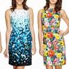Chetta B Floral Sheath Dresses