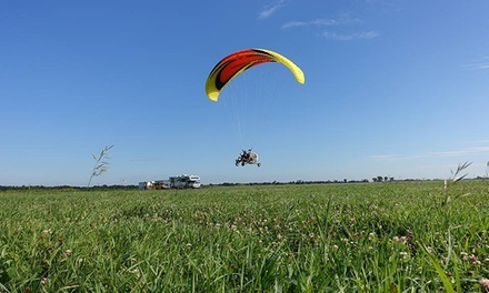 Familiarization Flight in Tandem Paramotoring for One or Two with ParaSurvol Outaouais (Up to 52% Off)