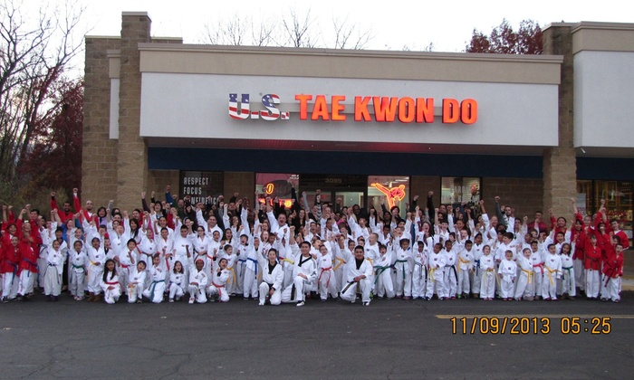 Yang's U.S.Taekwondo - Newington: Up to 92% Off Taekwondo Classes for One or Two at Yang's U.S.Taekwondo