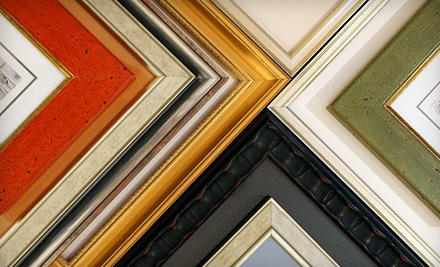 $40 for $100 Towards Custom Framing at Quadro Photo & Framing