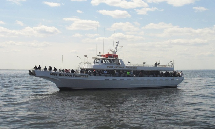 Miss Belmar Princess - Belmar Marina: Four-Hour Afternoon Fishing Trip with Bait, Rod, and Reel aboard the Miss Belmar Princess (Up to 50% Off)