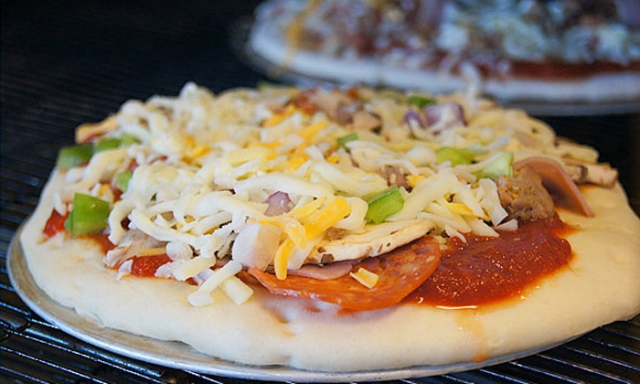 WhichWay Pizza - Prospect/Shields: Pizza Dinner for Two or Four at WhichWay Pizza (Up to Half Off)