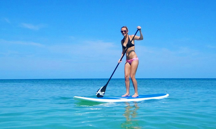 Siesta Key Paddleboards - Bradenton: Paddleboard Lesson with One or Two Hours of Paddling for One or Two at Siesta Key Paddleboards (Up to 68% Off)