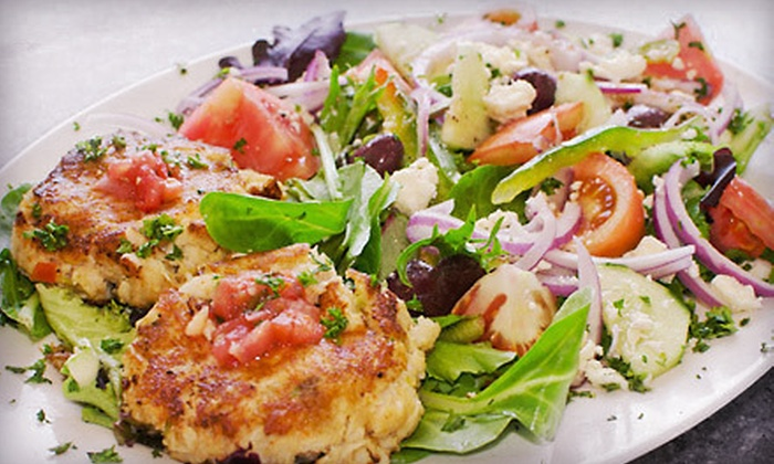 Anglins Beach Cafe - Lauderdale by the Sea: $20 for $40 Worth of Seafood and Organic Fare for Dinner at Anglins Beach Cafe in Lauderdale-by-the-Sea
