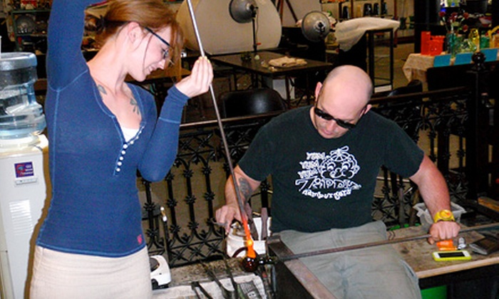 Rainier Glass Studio - Industrial District East: Glass-Blowing Project for One or Two at Rainier Glass Studio (Up to 59% Off)