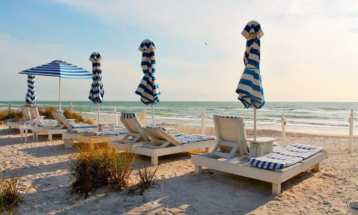 Bungalow Beach Resort - Anna Maria Island, FL: 3- or 5-Night Stay for Two at Bungalow Beach Resort in Anna Maria Island, FL