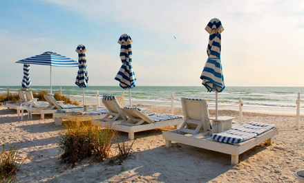 groupon daily deal - 3- or 5-Night Stay for Two at Bungalow Beach Resort in Anna Maria Island, FL