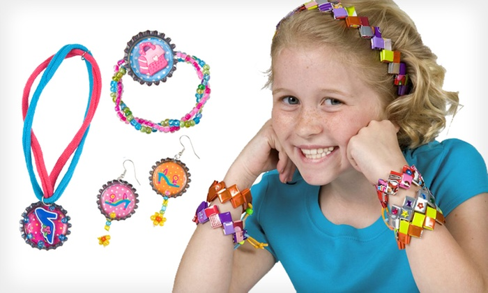 Alex Candy-Wrapper Craft Kit Bundle: $14.99 for Alex Cap It Off Jewelry Party and M&M's Candy Wrapper Jewelry ($49.90 List Price)