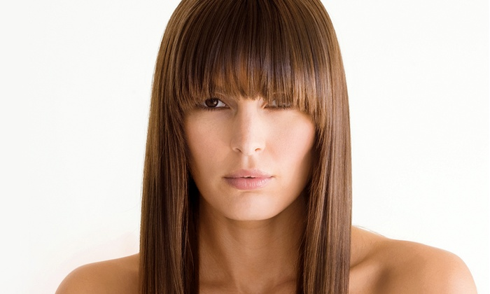 Artizen Salon - North Andover: $75 for $150 Toward Pravana Keratin Fusion Thermal Insulator & Eyebrow Wax, Cut, and Blowdry with a Color or Highlight