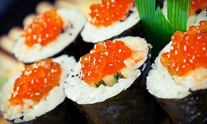 Asian Station 82nd - Upper East Side: $29 for a Japanese Meal with Appetizer, Sushi, and Drinks for Two at Asian Station 82nd (Up to $74 Value)