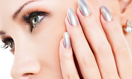 Spa or Shellac Manicure with Paraffin Treatment at Glamorosa! Salon & Spa (Up to 63% Off)