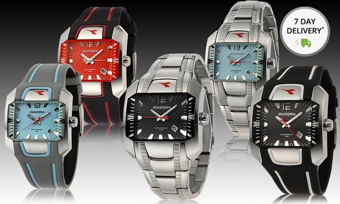 Men's and Women's Diadora Watches: Men's and Women's Diadora Watches. Multiple Styles Available. Free Returns