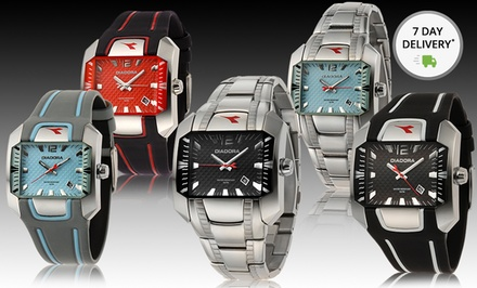 Men's and Women's Diadora Watches. Multiple Styles Available. Free Returns
