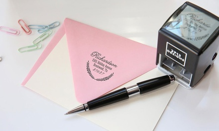 Personalized SelfInking Stamps with Shipping Included from 2712 Designs (Up to 59% Off). Four Options Available