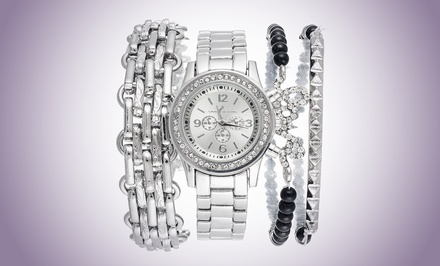 Arm Candy Women's Watches with Bracelet Sets. Multiple Styles Available. Free Returns.