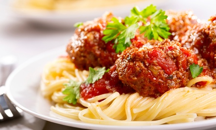 Italian Dinner or Take-Out at Anzio's Italian Restaurant (Up to 34% Off). Three Options Available.