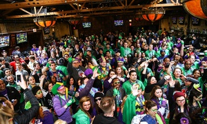 BeadQuest 2016: BeadQuest 2016 Mardi Gras Pub Crawl on Saturday, February 20, at 12 p.m.