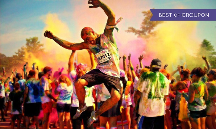 Color Me Rad - Woodward Park: $29 for Entry for One in 5K Color Run from Color Me Rad on Sunday, April 24 ($55 Value)