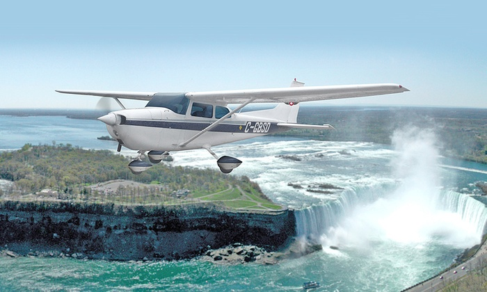Niagara Falls Air Tours - Niagara District Airport: Air Tour of Niagara for Two or Three People from Niagara Falls Air Tours Inc (Up to 42% Off)