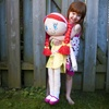 My Friend Huggles Doll with Minkette Blanket and Tutu