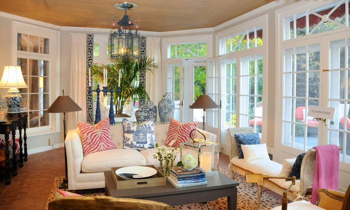 """Hampton Designer Showhouse Foundation, Inc. - """"Home Is Where The Heart Is"""" Designer Showhouse: 1 or 2 Tickets to Designer Showhouse Tour of """"Home Is Where the Heart Is"""" Designer Showhouse (Up to 44% Off)"""