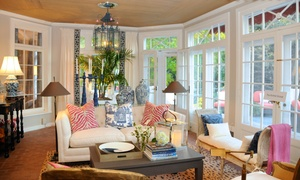 "Hampton Designer Showhouse Foundation, Inc.: 1 or 2 Tickets to Designer Showhouse Tour of ""Home Is Where the Heart Is"" Designer Showhouse (Up to 44% Off)"
