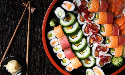 image for Sushi and Beer for Two or Four at Mujigae Japanese and Korean Cuisine (Up to 55% Off)